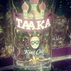 King Cake Vodka Pudding Shots
