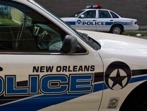 New Orleans police car
