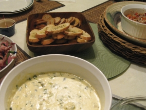 how to make crab mornay (photo by Patsy R. Brumfield/Southfacin' Cook)