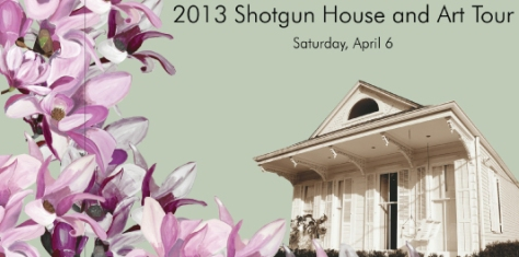 The Preservation Resource Center of New Orleans is hosting a shotgun home tour April 6 from 10 a.m. to 4 p.m. (image via http://prcno.org)