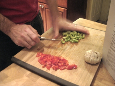 how to make crawfish etouffee (photo by Patsy R. Brumfield/Southfacin' Cook)
