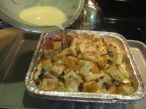 how to make bourbon bread pudding (photo by Patsy R. Brumfield/The Southfacin' Cook)