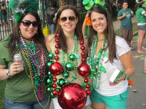 Prepare for beads, Irish Spring soap, cabbage and wet kisses at the St. Paddy's parade in the Irish Channel. (photo via Kim Smelter/New in NOLA)