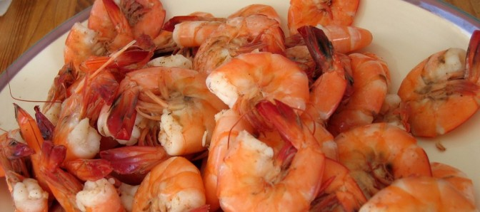 boiled shrimp image from flickr user @mymoustache and used in accordance with the Creative Commons license