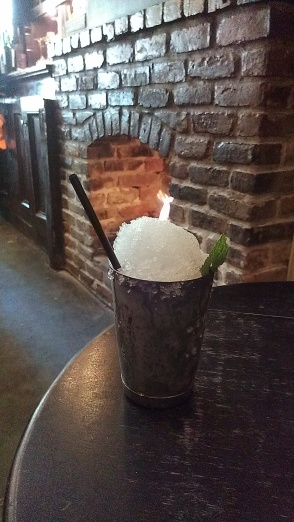 Our mint julep from Bar Tonique in the French Quarter. (photo by Carlie Kollath Wells/New in NOLA)