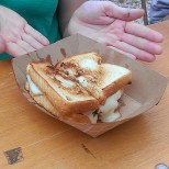 New in NOLA Margaret's patty melt from Frencheeze (photo by Carlie Kollath Wells/New in NOLA)