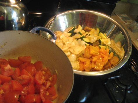 How to make ratatouille like a New Orleans native (photo by Patsy R. Brumfield/Southfacin' Cook)