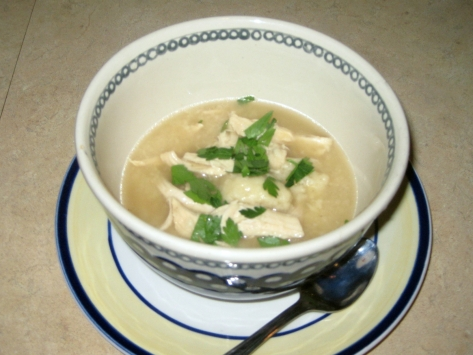 how to make chicken and dumplings like a New Orleans native (photo by Patsy R. Brumfield/The Southfacin Cook)