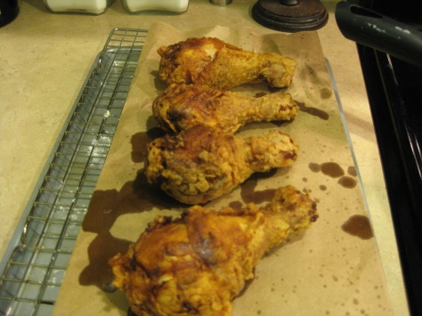 how to cook fried chicken like a New Orleans native (photo by Patsy R. Brumfield/Southfacin' Cook)