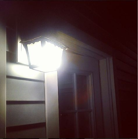 #NewinNOLA tip: Turn off your porch lights to avoid termite swarms at your door. (photo via @NewinNOLA on Instagram)