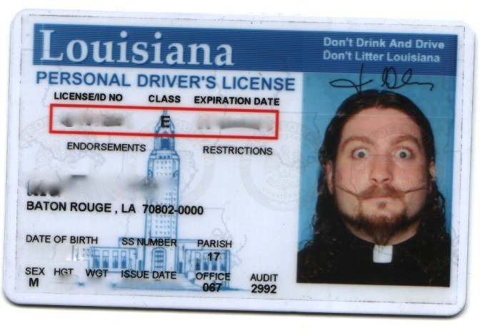 drivers license in louisiana requirements