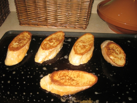 how to cook pain perdu like a New Orleans native (photo by Patsy R. Brumfield/The Southfacin' Cook)