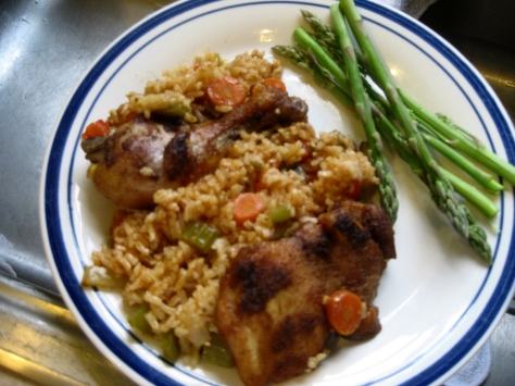 how to make spicy chicken Rosalie (photo by Patsy R. Brumfield/The Southfacin' Cook)