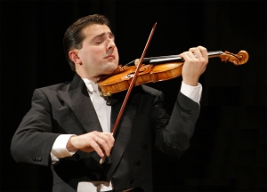 Italian violinist Matteo Fedeli will have a performance June 21 in New Orleans. (photo courtesy of the event promoter)