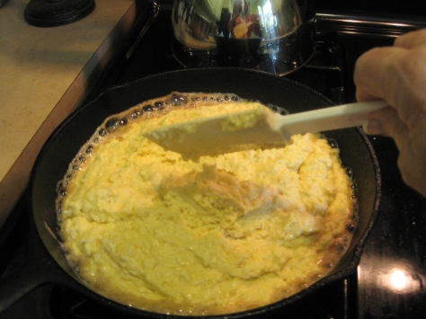 how to make cornbread like a New Orleans native (photo by Patsy R. Brumfield/the Southfacin' Cook)