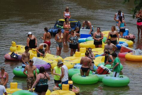 Tiki Tubing offers tubing adventures in Denham Springs. (photo via Tiki Tubing's   Facebook page)