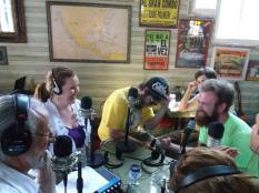 New in NOLA was honored to be on the July 25 episode of Happy Hour. We laughed so hard, we cried. (via It's New Orleans Facebook page)