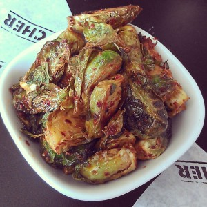delicious Brussels sprouts at Cochon Butcher (photo via @NewinNOLA on Instagram)