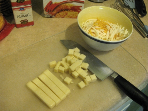 How to make mac and cheese (photo via Patsy R. Brumfield/The Southfacin' Cook)