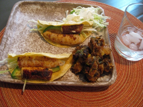 how to make fish tacos like a New Orleans native (photo by Patsy R. Brumfield/The Southfacin' Cook)