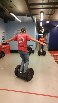 our guide and his Segway skills (photo by Carlie Kollath Wells / New in NOLA)