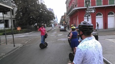 going through the French Quarter (photo by Carlie Kollath Wells / New in NOLA)