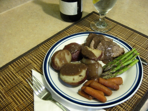 how to make pot roast like a New Orleans native (photo by Patsy R. Brumfield/The Southfacin' Cook)