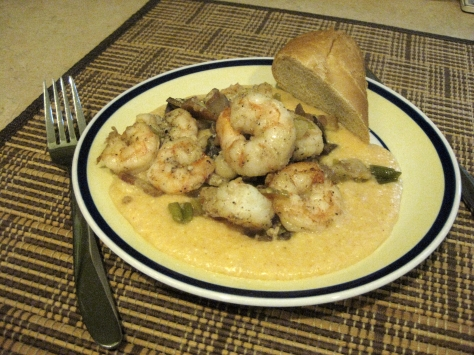 how to cook shrimp and grits like a New Orleans native (photo by Patsy R. Brumfield/The Southfacin' Cook)
