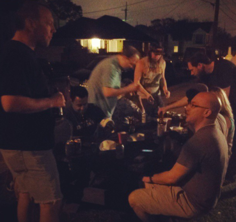 Chaos Cooking puts on a good foodie party. (photo via @NewinNOLA on Instagram)