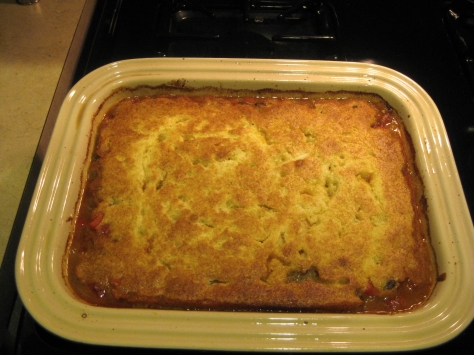 how to make tamale pie like a New Orleans native (photo by Patsy R. Brumfield/The Southfacin' Cook)