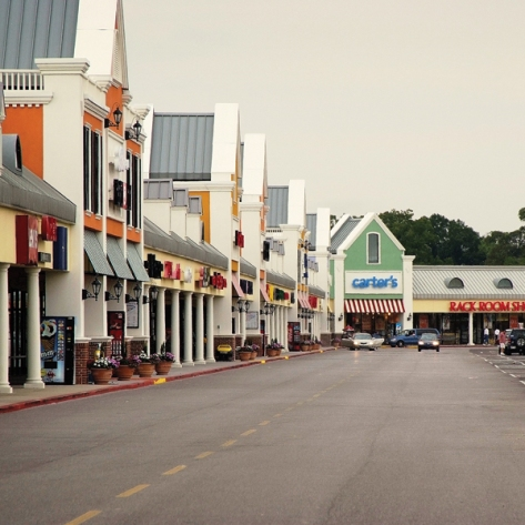Tanger Outlets in Gonzales (photo via TangerOutlet.com)
