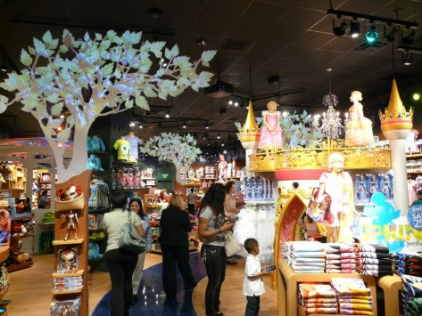 Lakeside has a Disney Store. (image via Lakeside Mall's Facebook page)