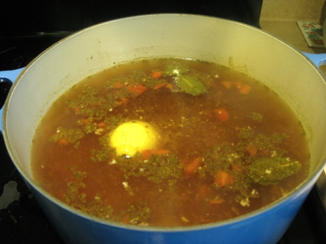 how to make chicken vegetable soup (photo by Patsy R. Brumfield/The Southfacin' Cook)