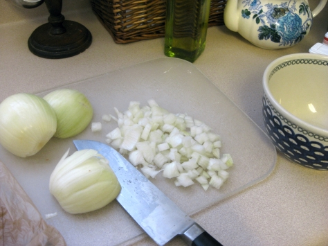 how to make white chili (photo by Patsy R. Brumfield/The Southfacin' Cook)