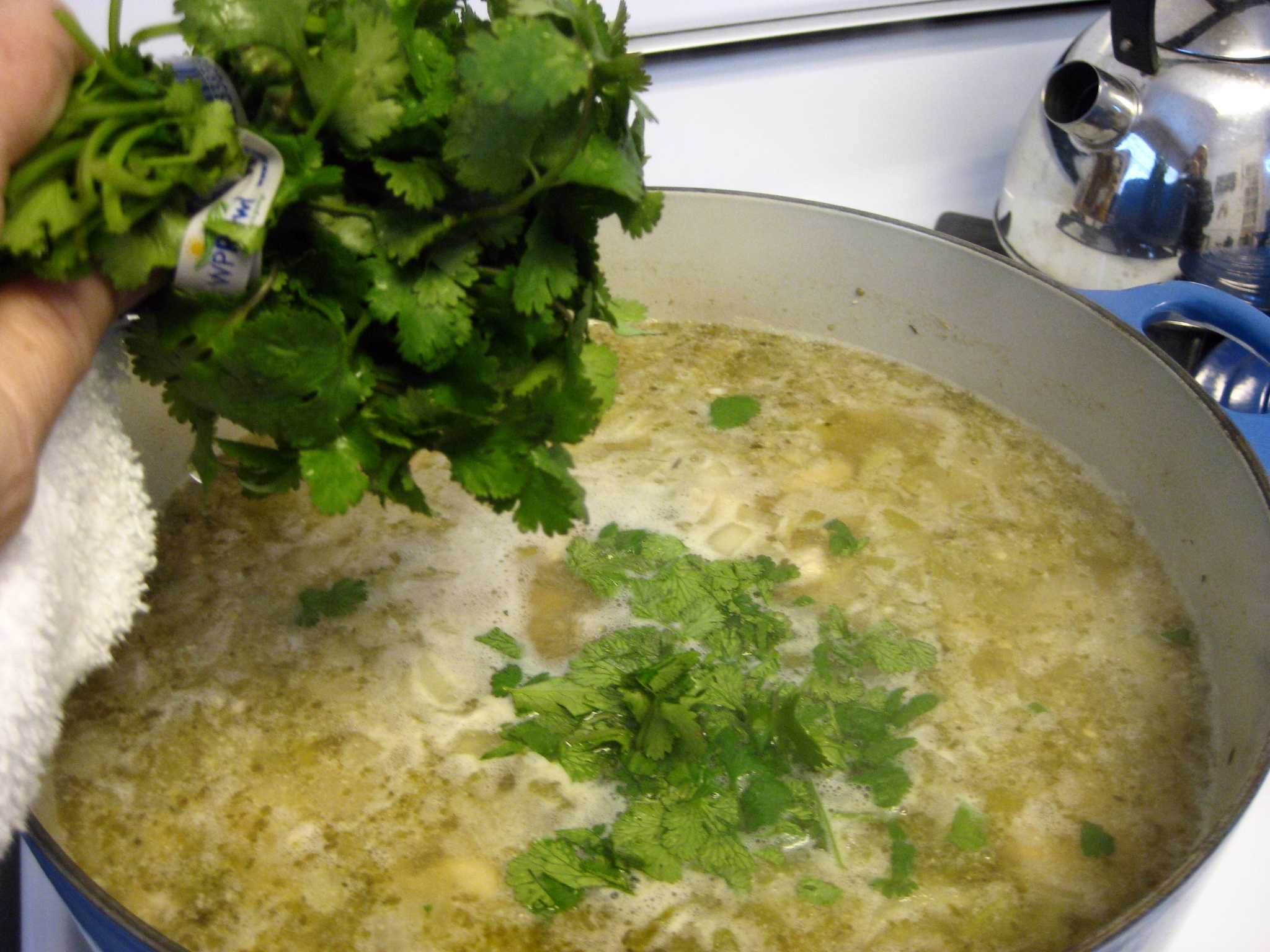how to make white chili