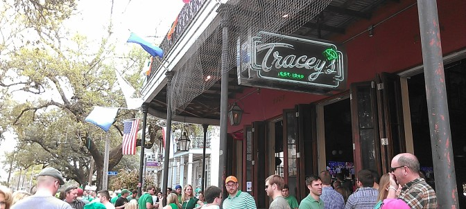 St. Patrick's Day in the Irish Channel (photo by Carlie Kollath Wells/New in NOLA)