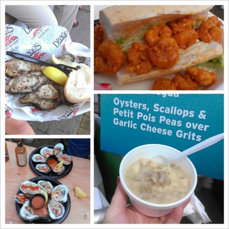 The Oyster Fest serves up all sorts of bivalve goodness. Here are some of eats in 2013. (photos by Carlie Kollath Wells/New in NOLA)