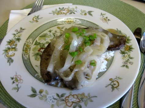 how to cook liver and onions (photo by Patsy R. Brumfield/The Soutfacin Cook)