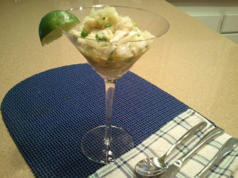 how to make West Indies crab meat salad (photos by Patsy R. Brumfield/The Southfacin' Cook)