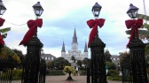 Christmas in Jackson Square, New Orleans (photo by Carlie Kollath Wells, New in NOLA)