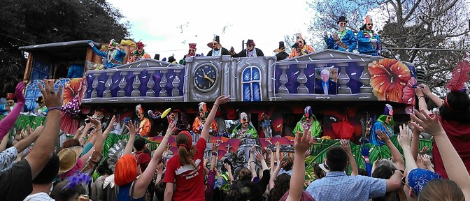 Mardi Gras 2014 (photo by Carlie Kollath Wells, New in NOLA)