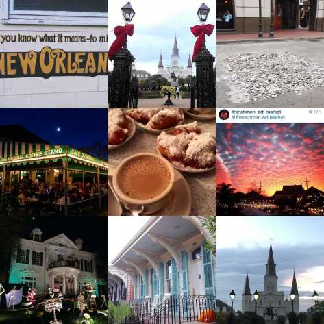 These were our top Instagram posts on @NewinNOLA in 2015. Photos by Carlie Kollath Wells, Mallory Whitfield, Tiffany Langlinais, James Cullen and Frenchmen Art Market.